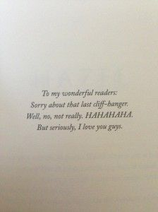 """To my wonderful readers..."" Rick Riordan awesome dedication"