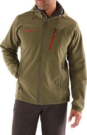 3d3fe860b11599 Durable and highly water resistant  the Men s Mammut Chopaka Jacket. Only  at REI.