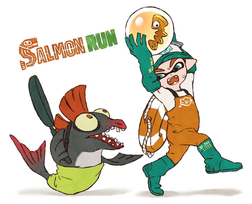 Splatoon 2 salmon run   splatoon 2   Splatoon comics ...