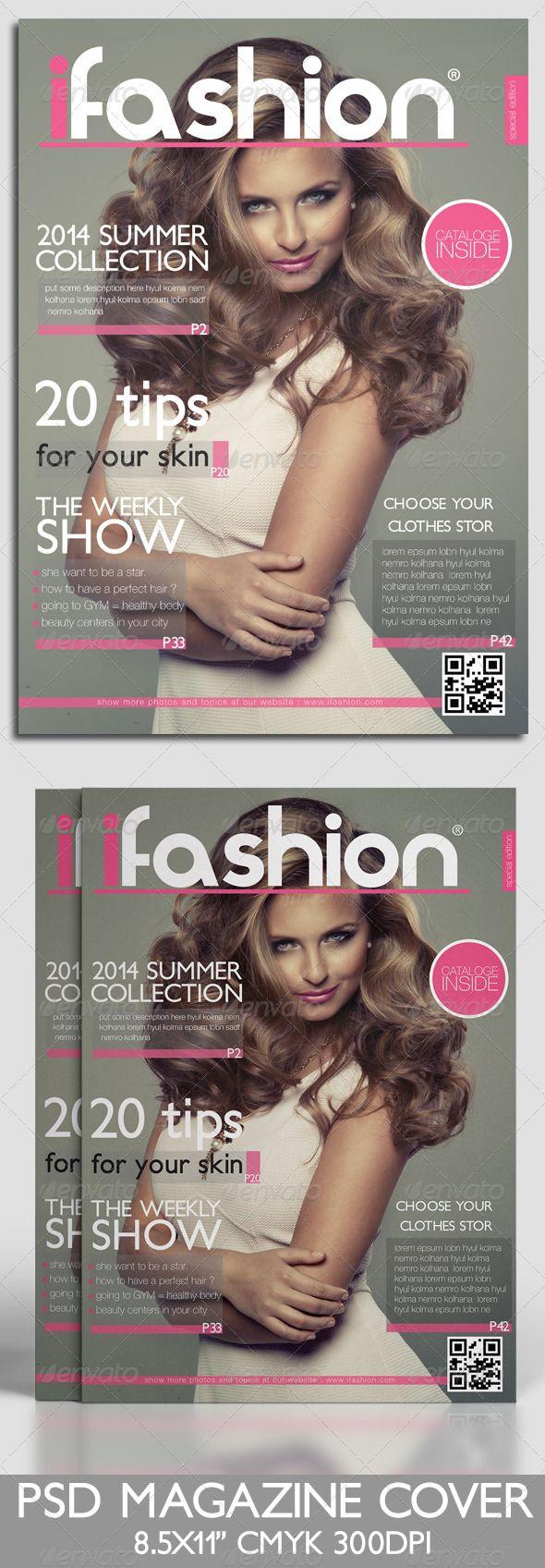 Magazine Cover Template | Magazine cover template, Magazine covers ...
