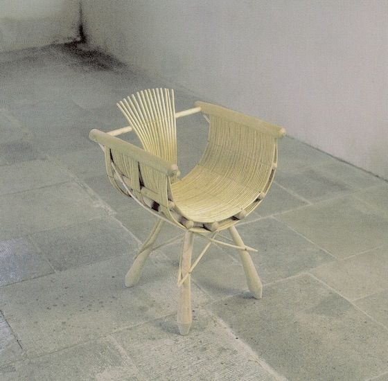 A Chair Called Cathedral Made By Dorset Furniture Maker And Sculptor Guy  Martin From Ash And