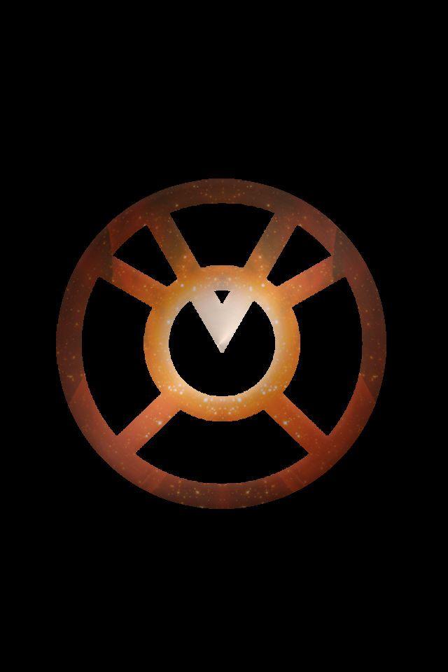 Stary Orange Lantern Logo background by KalEl7 on ...Orange Lantern Corps Logo