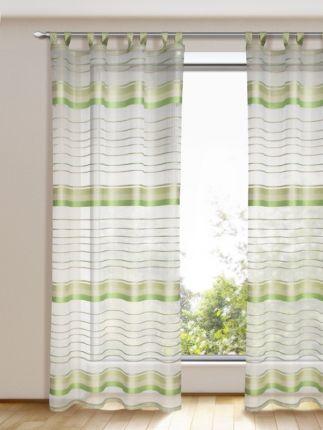 Schlaufenschal Li mit verschiedenen Schattierungen in Grün - schone schlafzimmergardinen wohlfuhlfaktor