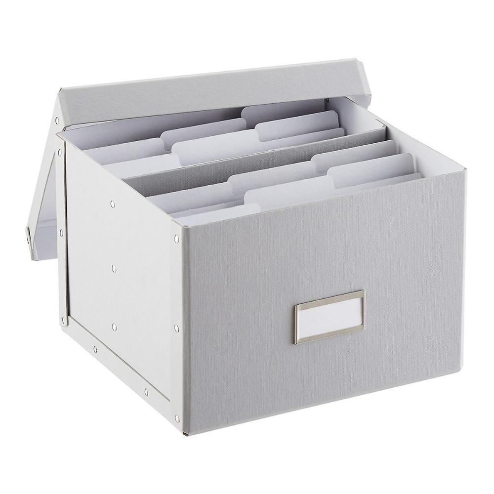 Bigso Light Grey Greeting Card Organizer Greeting Card Organizer Greeting Cards Storage Greeting Card Store