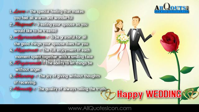 Happy Wedding English Quotes Images Wedding Greetings Life