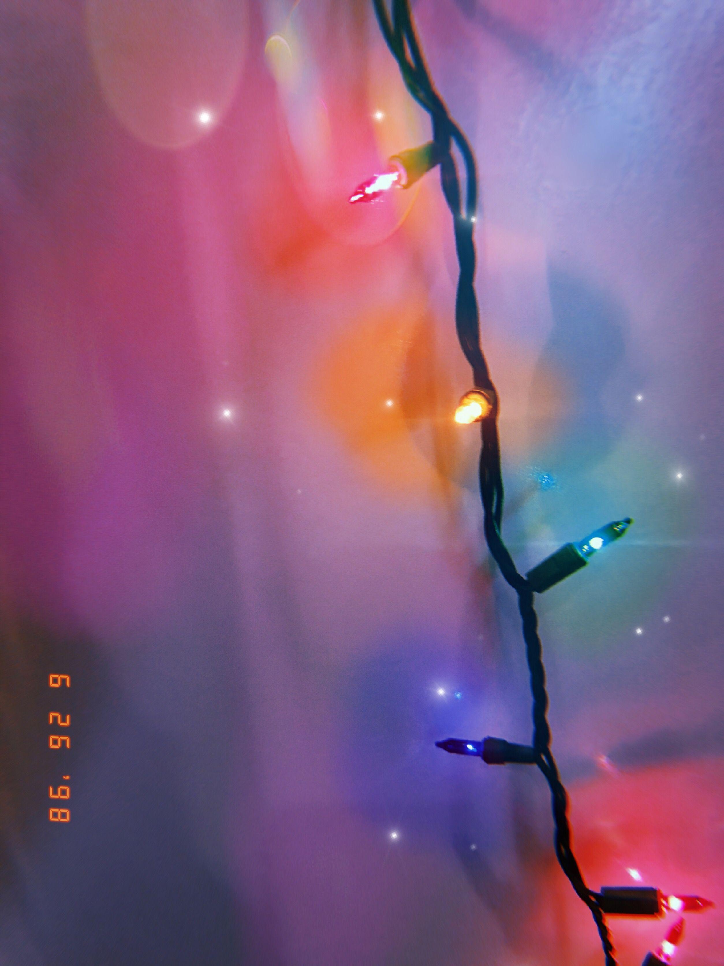 90s Christmas Lights.Christmas Lights In June Aesthetic Internet Princess