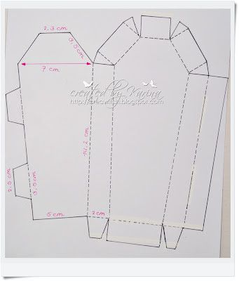 Free Coffin Template For Candy Or Party Utensils Whiff Of Joy