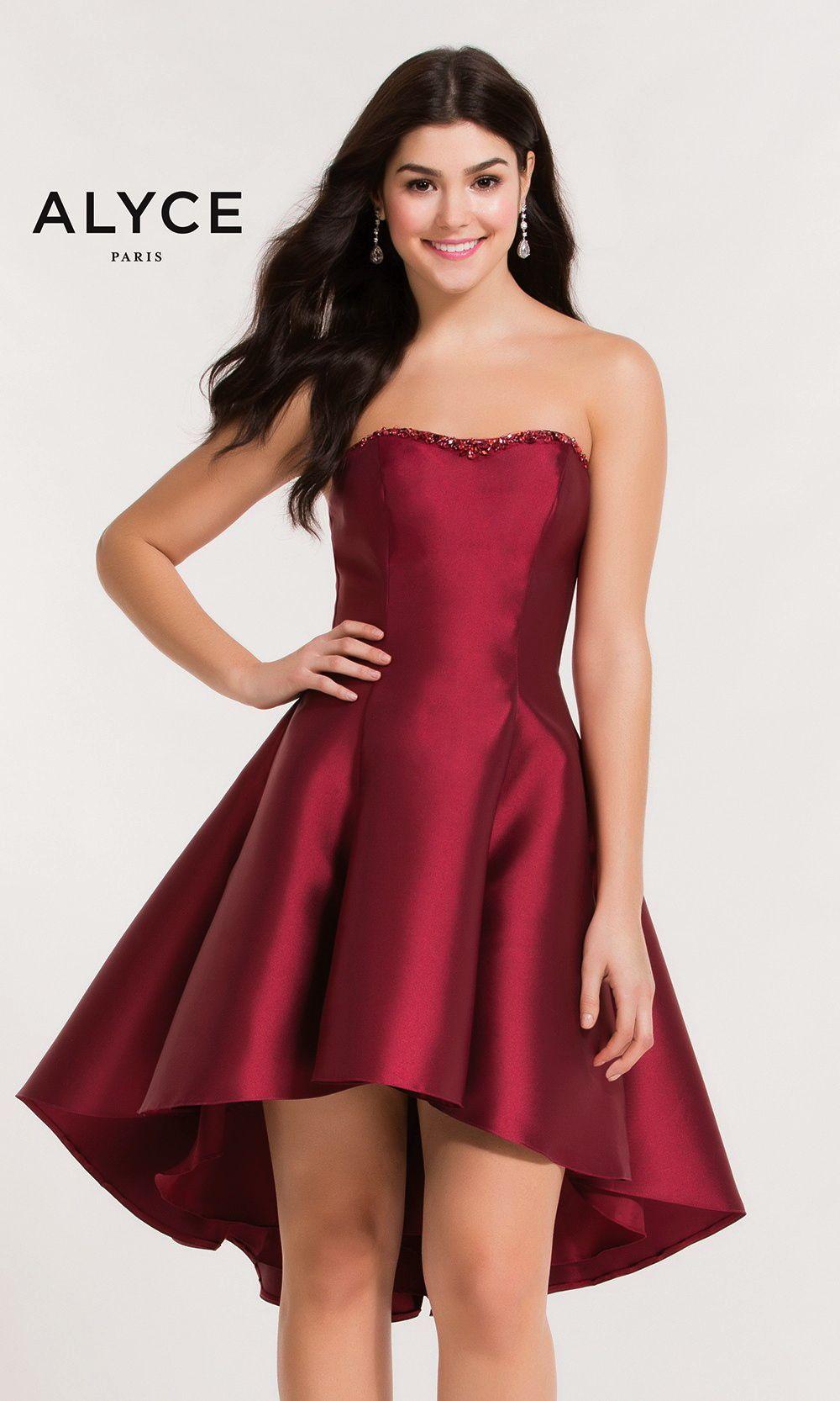 Short evening dresses homecoming dresses by alyce parisucbrueaay