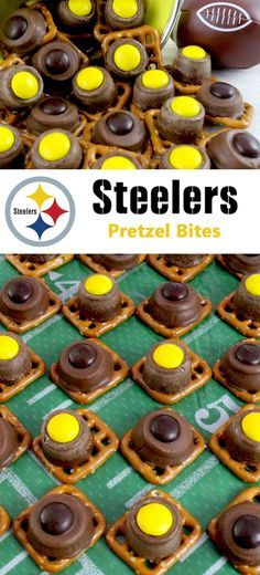 Pittsburgh Steelers Pretzel Bites #tailgatefood
