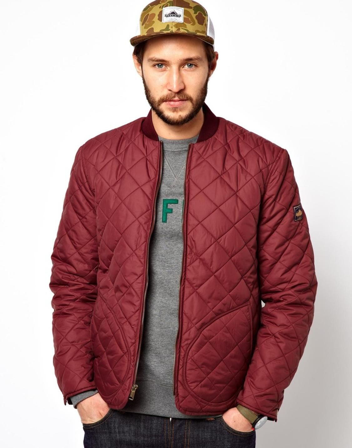 Penfield Landrum Quilted Bomber Jacket -EXCLUSIVE | Jackets & Vest ...