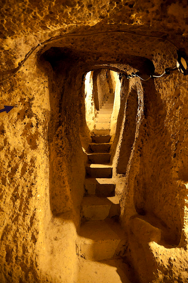 Underground Caves Derinkuyu by Kantilal Patel #cavehouse