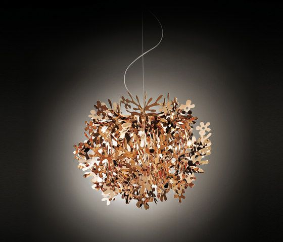 Fiorella Mini Copper suspension von Slamp - Pendelleuchte
