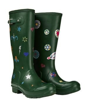 Boot Glow UV Stickers Personalized Rain Boots | Find something for everyone on your list with fun and inexpensive ($20 and under) ideas from our holiday gift guide.