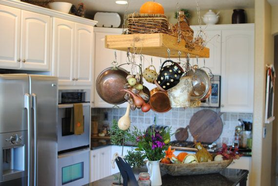 Best P*T Rack Rustic Decor Kitchen Island Decor By 400 x 300