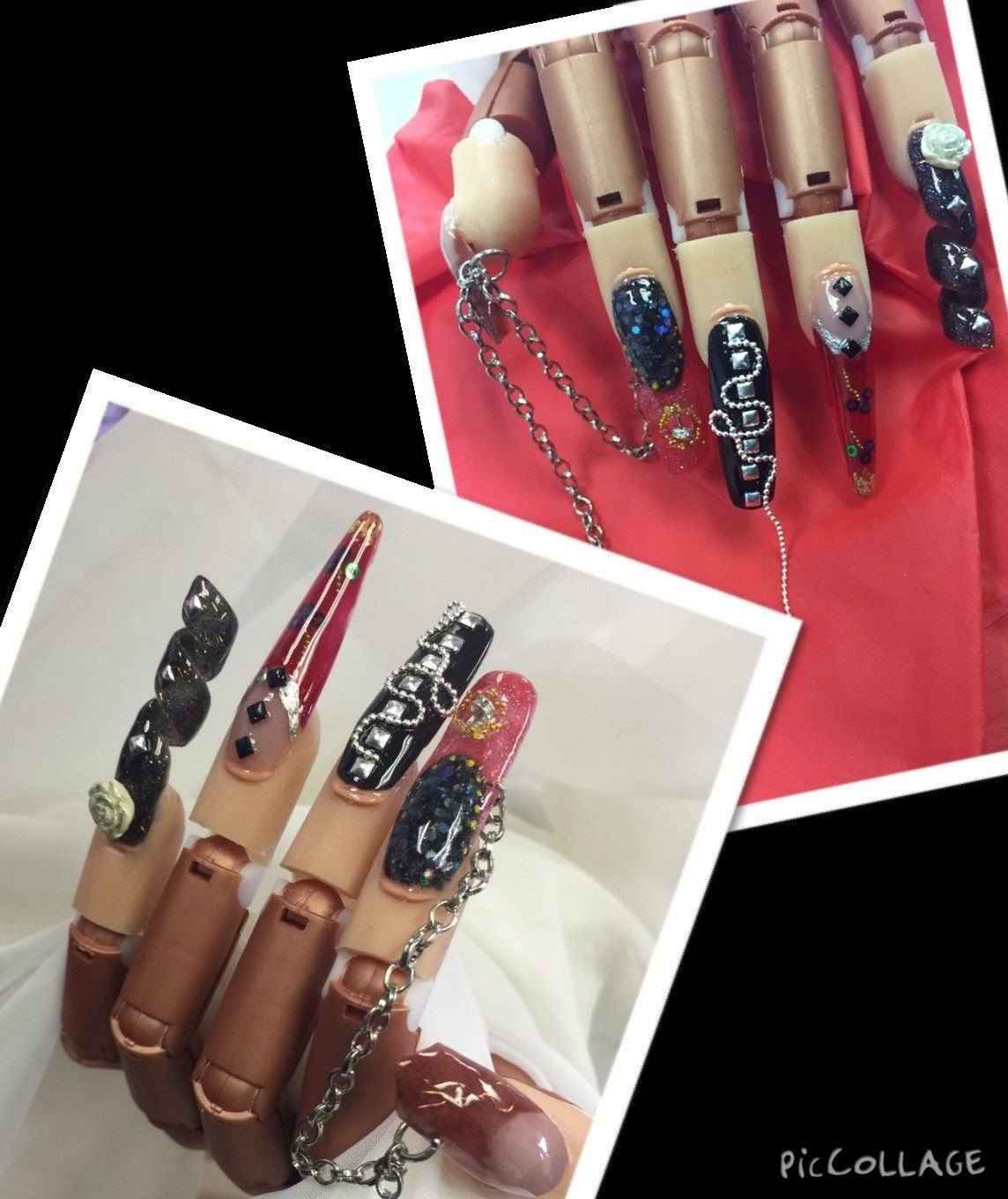 3D NAIL ART done by students at our beauty school in San