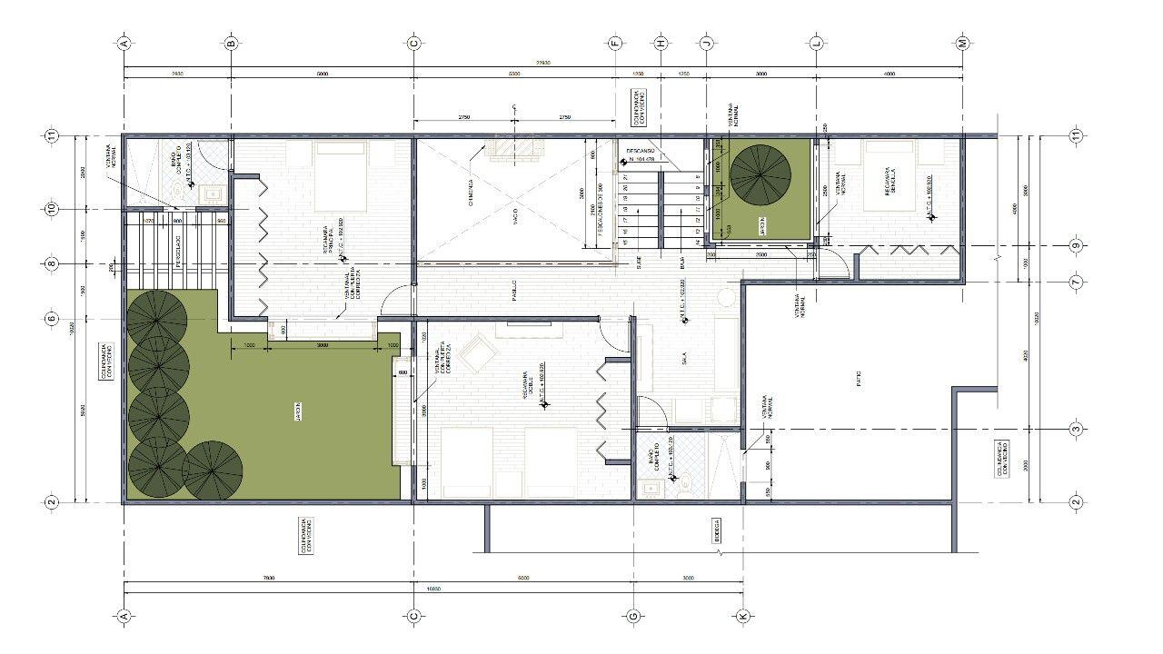 Planta arquitect nica dise o arquitect nico pinterest for Que es una planta arquitectonica
