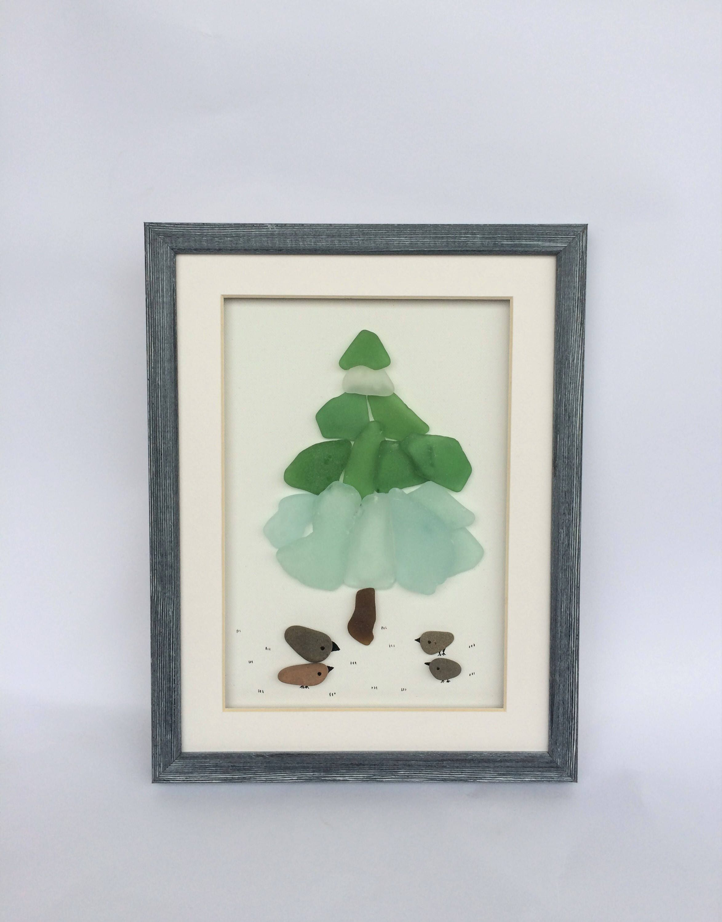 Pin By Seacraftart On Greeting Cards Sea Glass Art Pebble Art