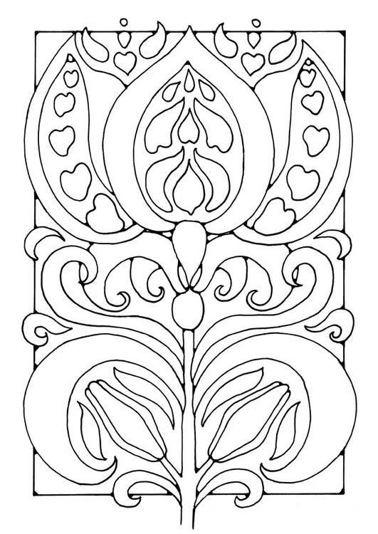 Kleurplaat bloem | Colorin\' Year \'round | Pinterest | Colorin