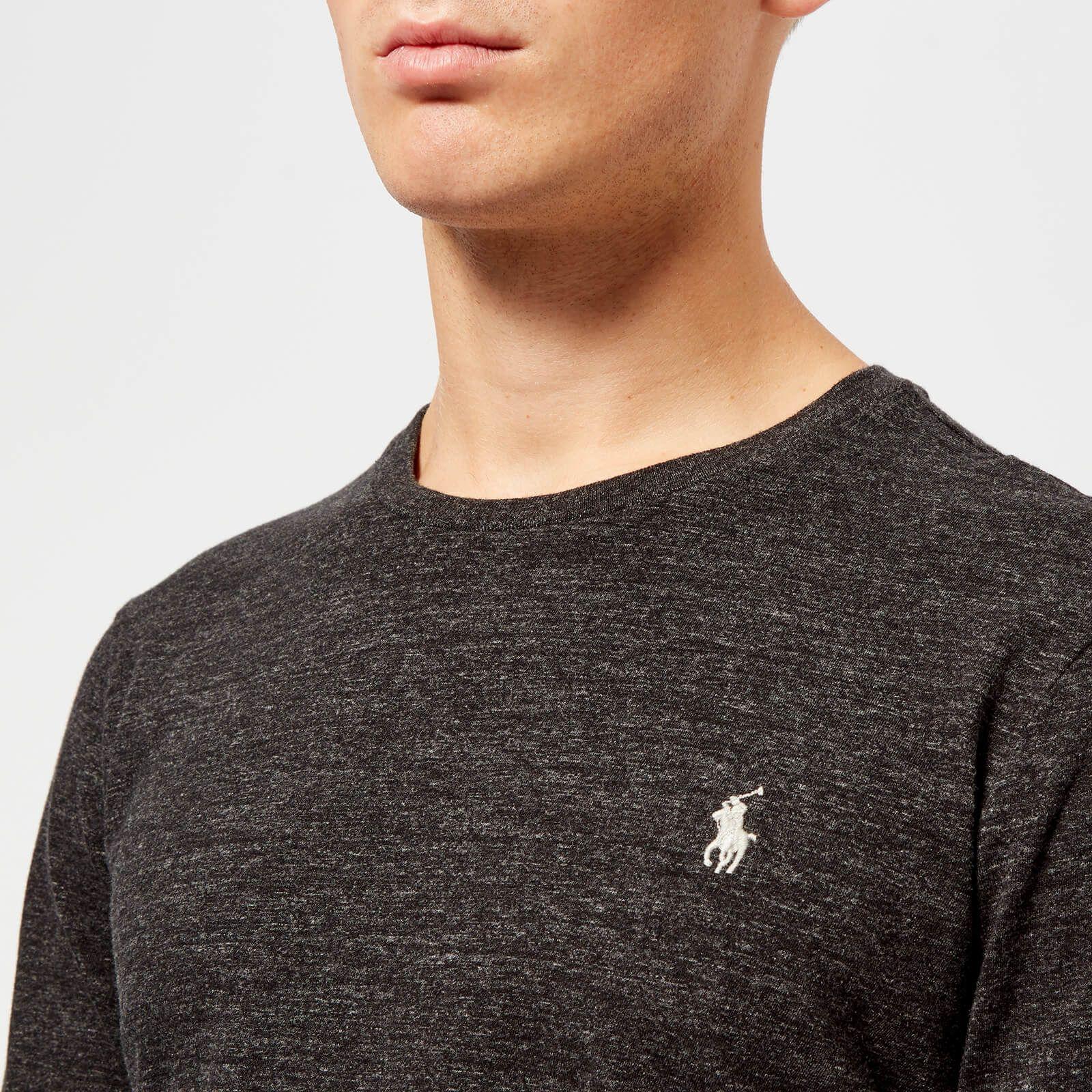 Polo Ralph Lauren Men's Basic Crew Neck Long Sleeve T-Shirt ...