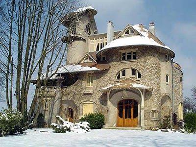 art nouveau home in france architecture pinterest france