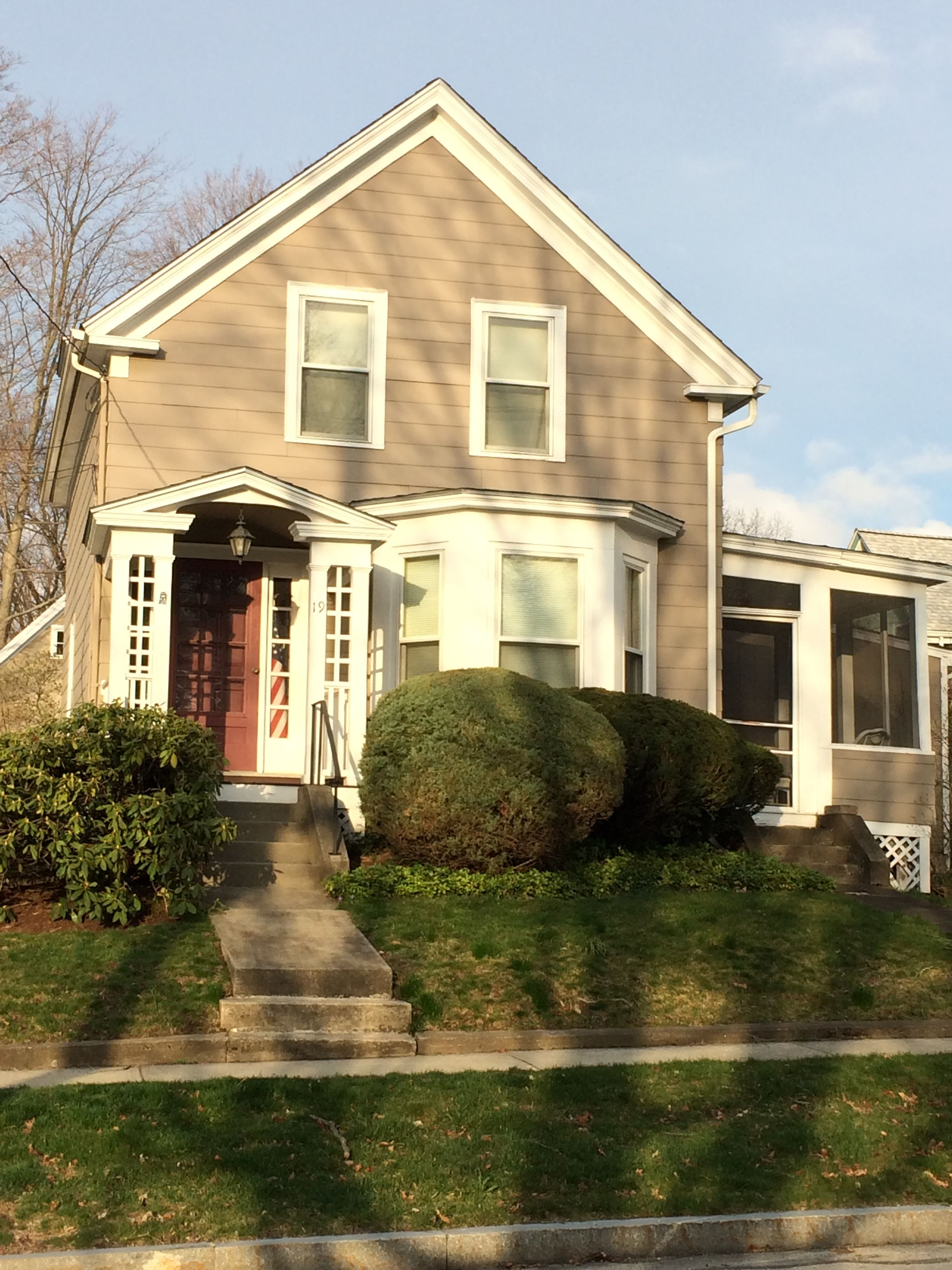 Asbestos Siding Historic Homes Westborough Ma Historic Homes House Styles New Homes