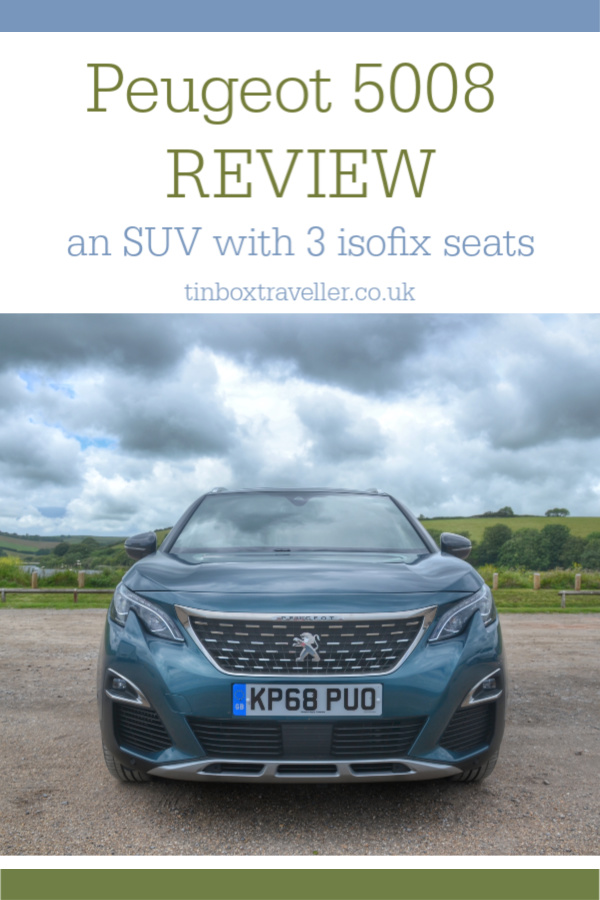 Peugeot 5008 GT Line Premium review SUV with 3 ISOFIX