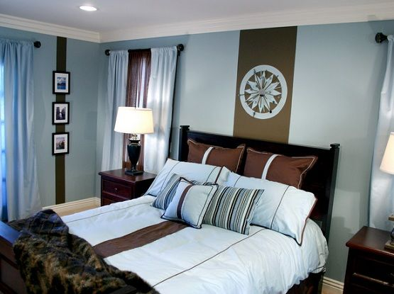 Dark Brown And Baby Blue Bedroom Ideas Jpg 555