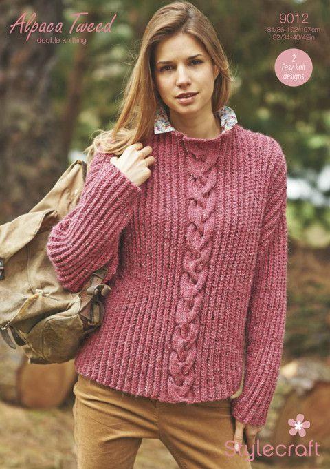 Stylecraft 9012 Sweaters Pinterest Weaving