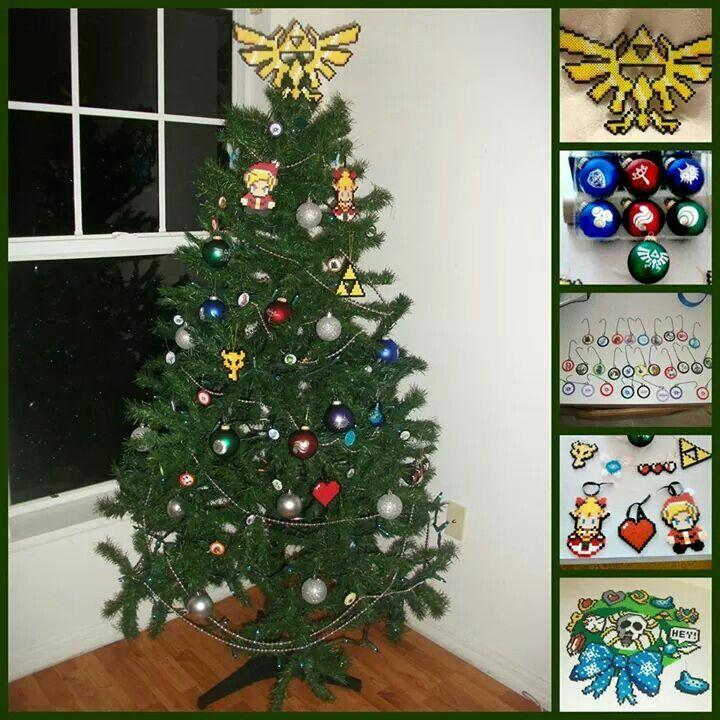 Zelda Christmas Tree! | Dream Home | Pinterest | Christmas ...
