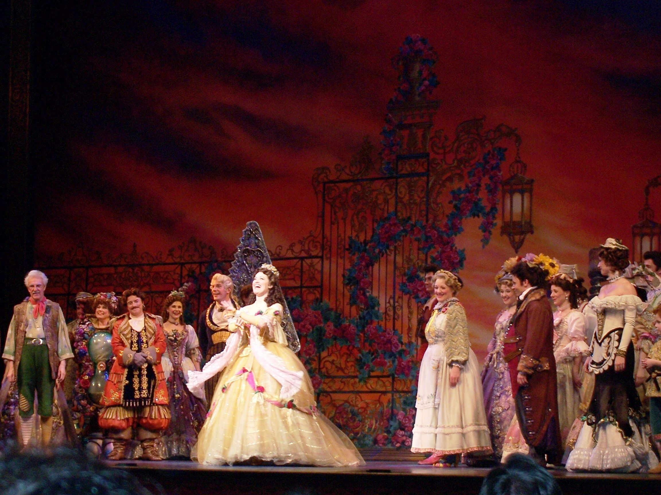 you ve been dreaming just one dream nearly all your life ashley brown finale dress beauty and the beast broadway