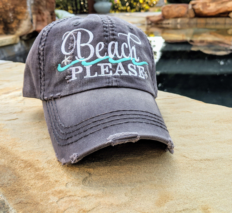 Beach Please baseball cap 1259fd698d0