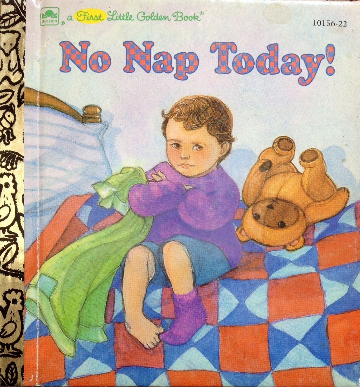 No Nap Today! First Little Golden Book by Lonestarblondie on Etsy