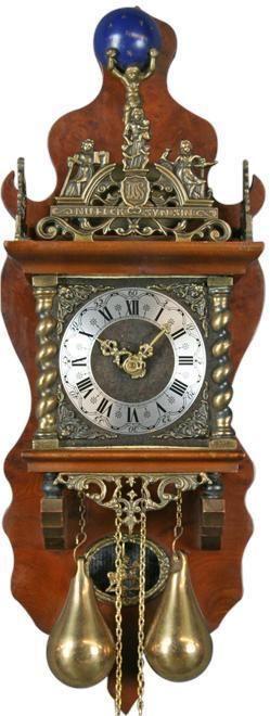 Dutch Zaandam Zaanse Atlas Pendulum Wall Clock The House