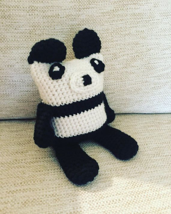 Panda Bear Suffed Crochet