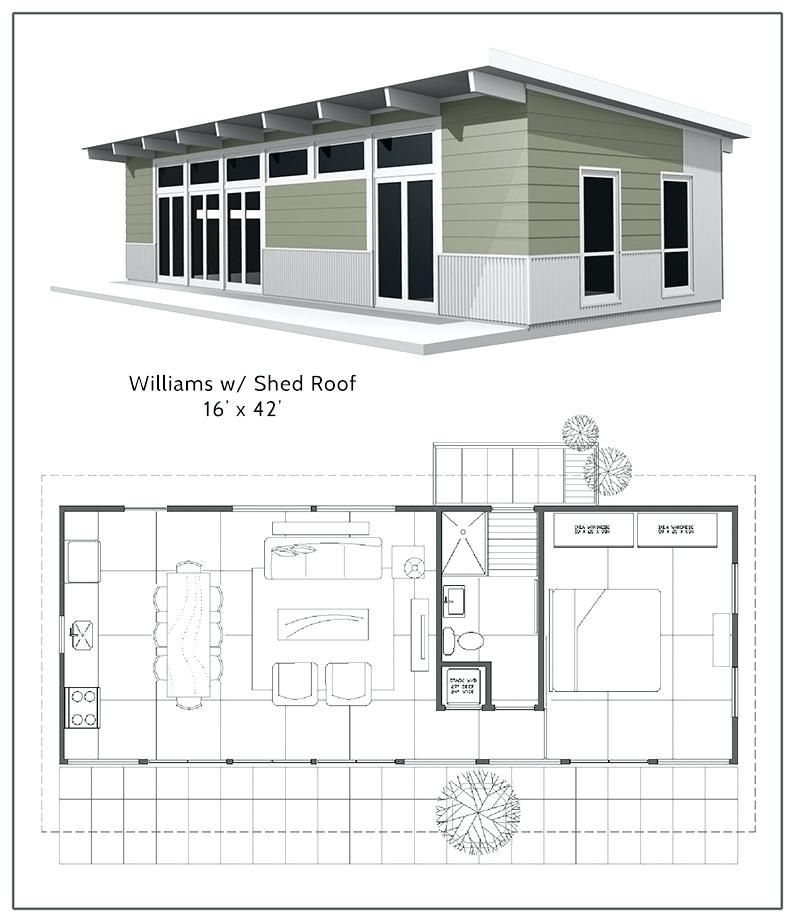 Shed Roof House Plans Custom Plans Shed Roof Small Shed Roof Home