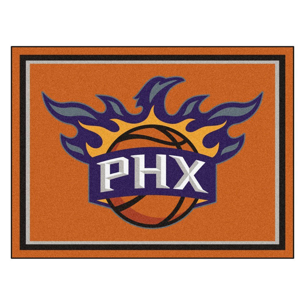 Dress Up Your Family Room Or Mancave With The Phoenix Suns 8x10 Plush Area  Rug.