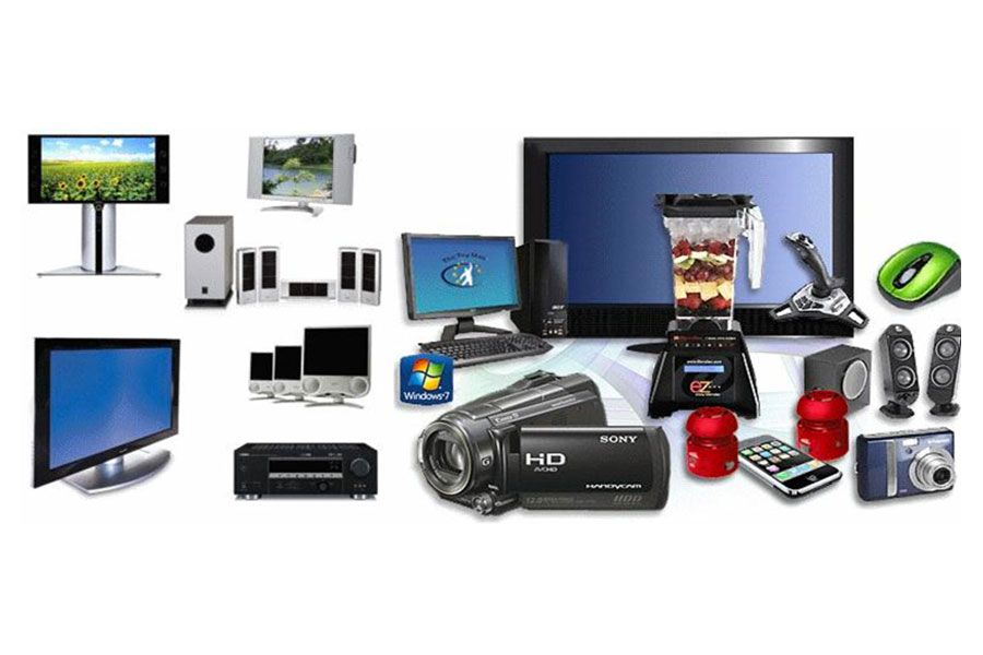 you get easily all the consumer Electronics goods at