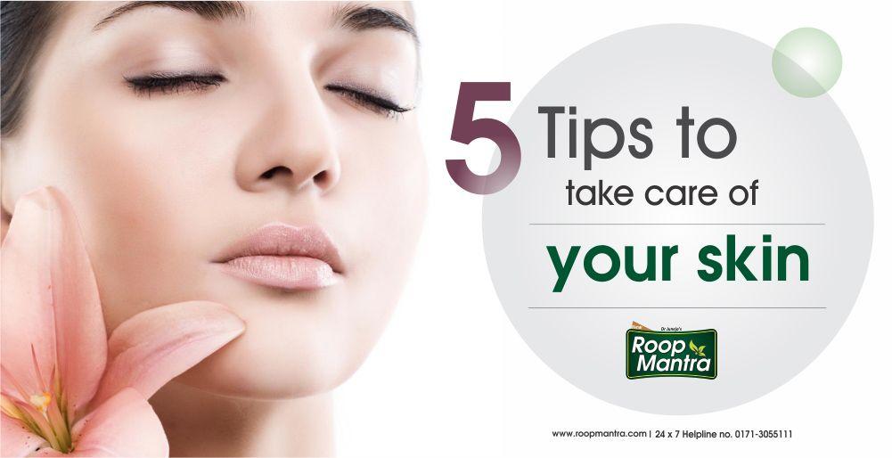 5 Tips To Take Care Of Your Skin Skin Cream Skin Beautiful Glowing Skin