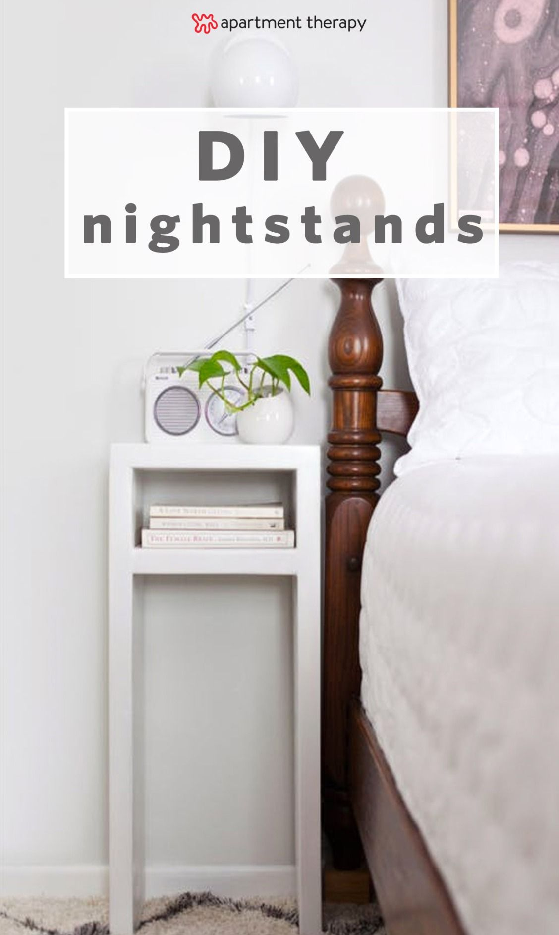 Make It Yourself 9 Smart Stylish Diy Nightstands For Small