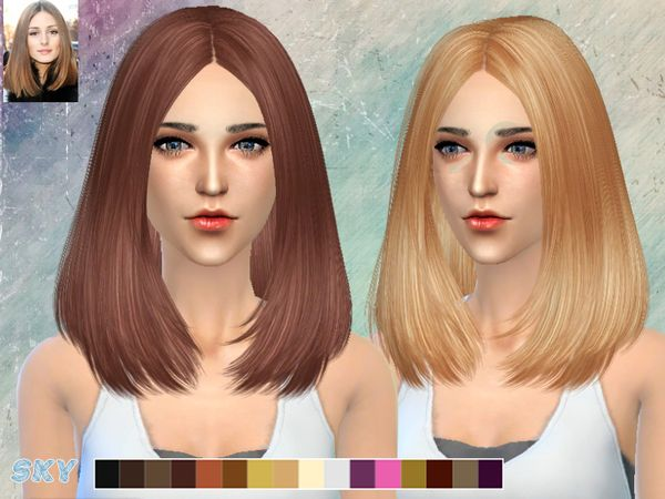 Hairstyles Updates: Lisa Hair 269 By Skysims At TSR • Sims 4 Updates