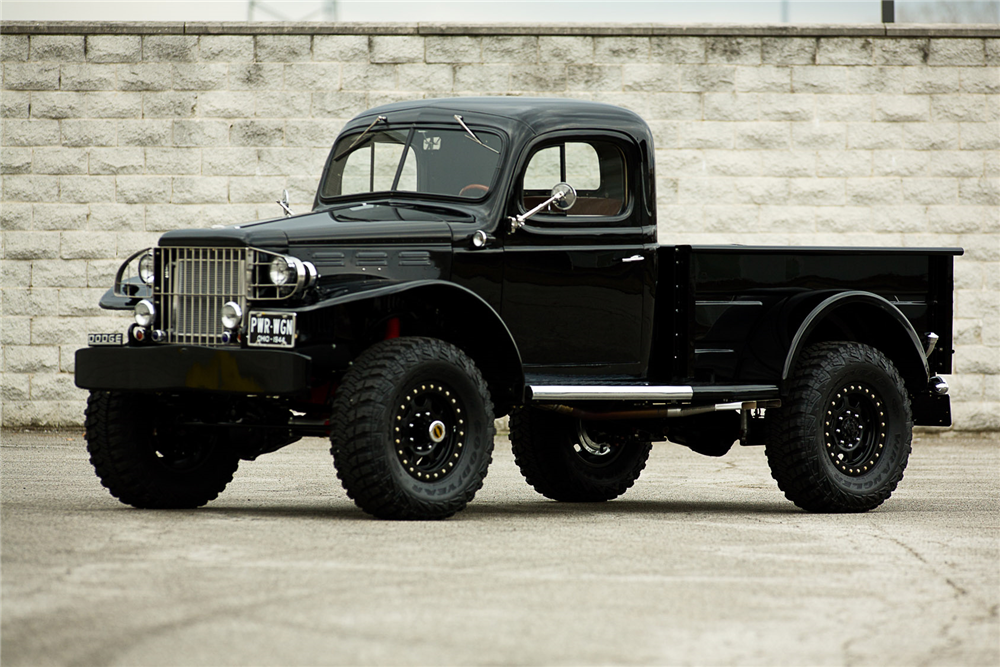 1944 Dodge Power Wagon Custom Pickup Barrett Jackson Auction
