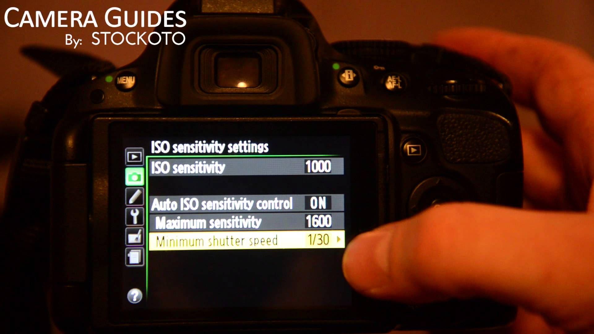 how to set iso sensitivity on a nikon d5100 d5200 d5300 rh pinterest com Shot with Nikon D5100 nikon d5100 manual video mode