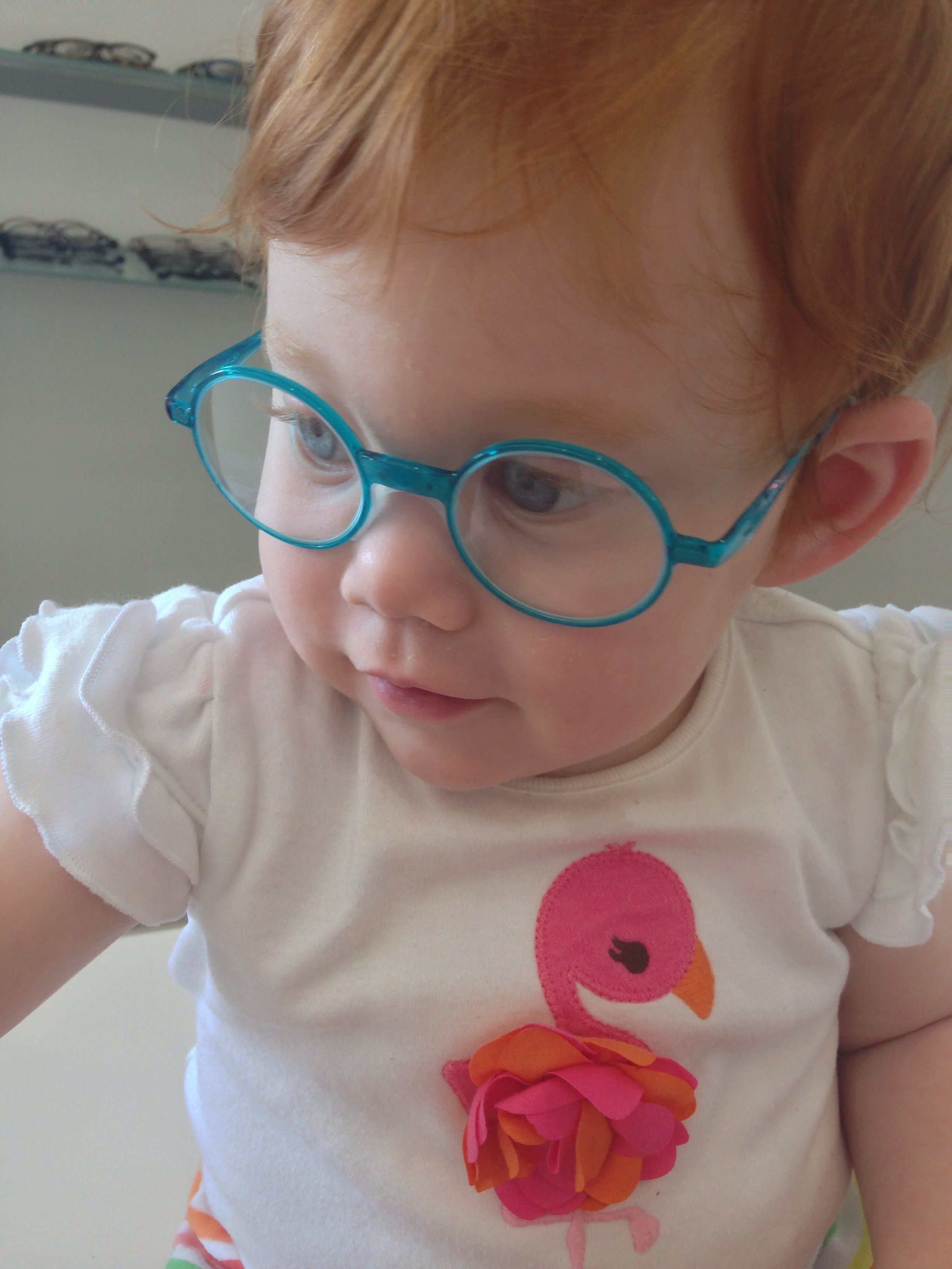 ef78abdeda5 Baby / toddler glasses by swiss flex. No goggle glasses for my girl ...