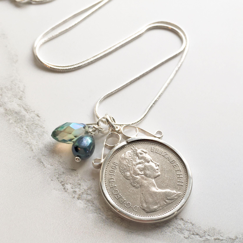 50th birthday coin jewellery archives prenoa coin