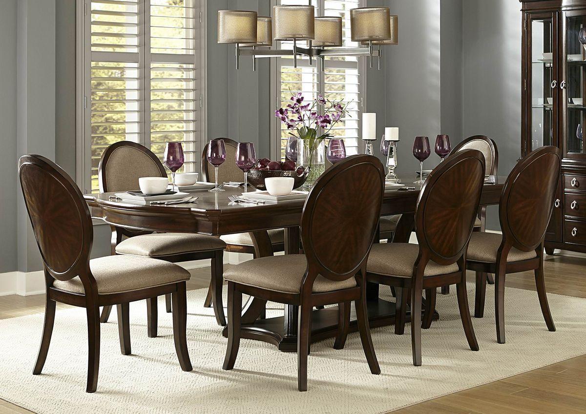 Delavan Collection 7Pcs Dining Table U0026 Chair Set 5251 108