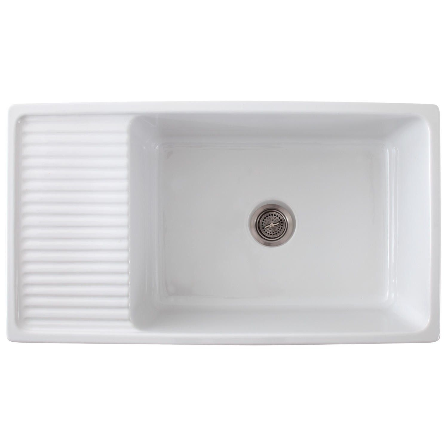 white kitchen sink with drainboard. 36\ White Kitchen Sink With Drainboard I