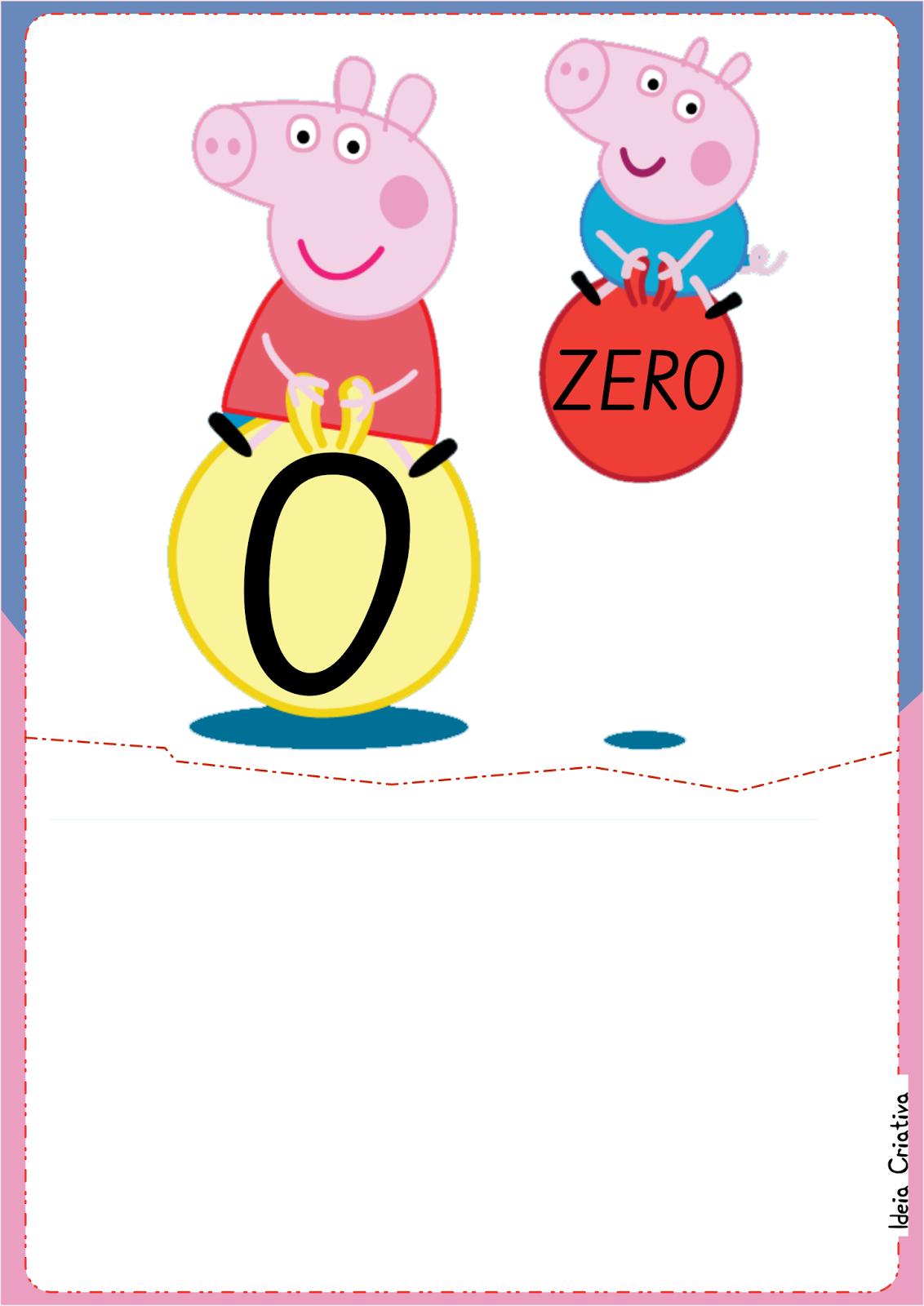Numerais De Parede Peppa Pig E George Para Imprimir Gr Tis Sala De