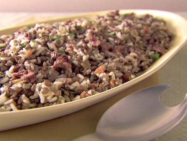 Salada De Arroz E Lentilha Receita Com Imagens Lentilhas