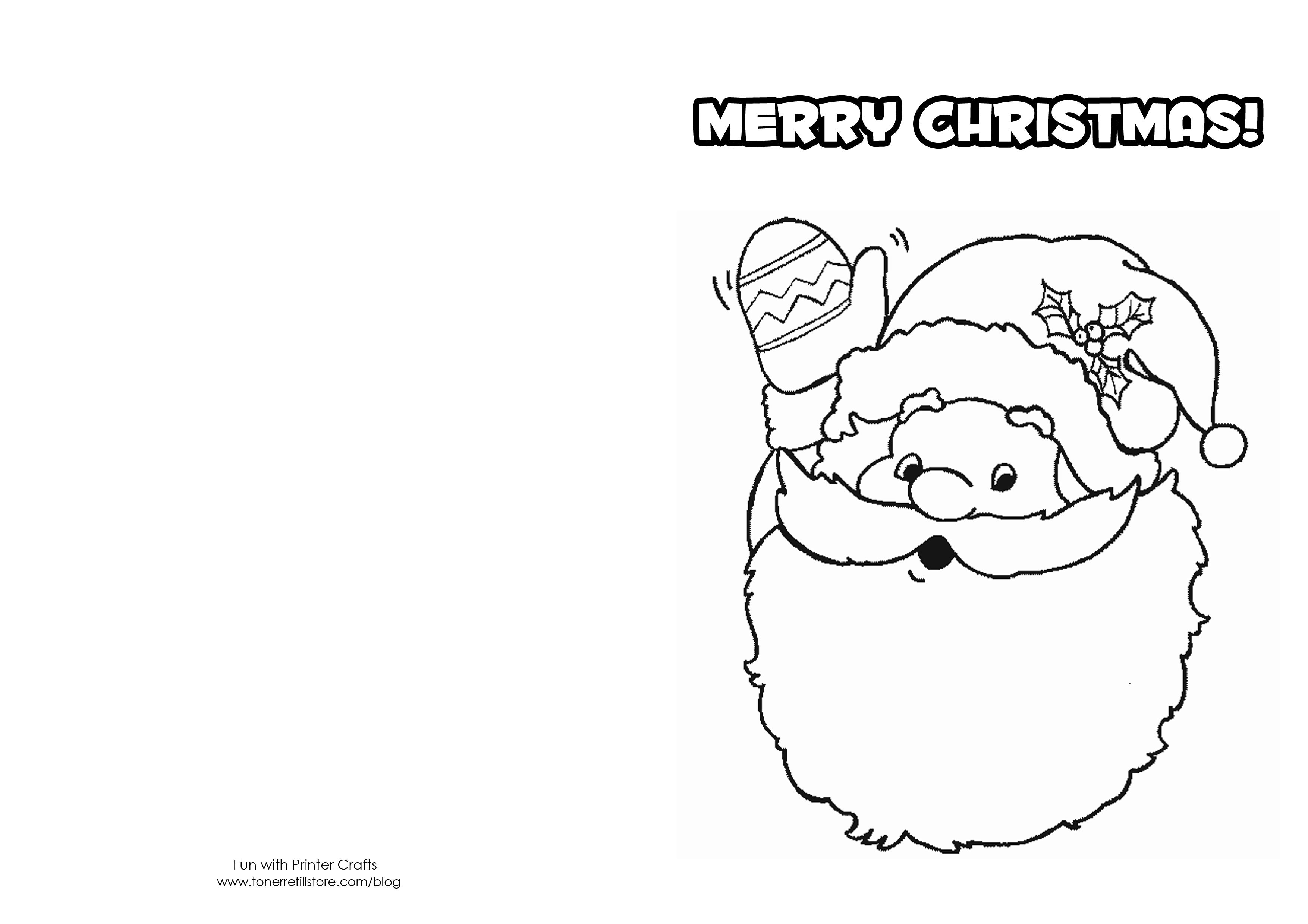 Printable Christmas Cards For Kids Printable christmas