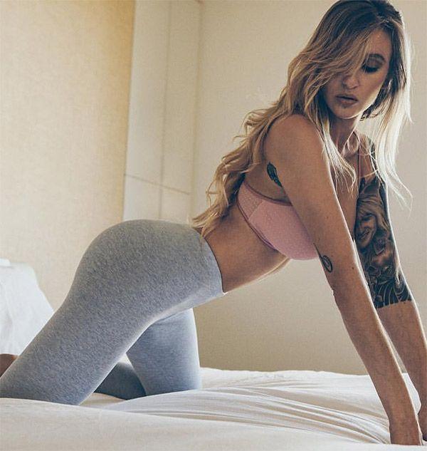 Girls In Grey Yoga Pants